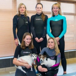 Hydrotherapy team with Patients at Fitzpatrick Referrals Orthopaedics and Neurology Hospital