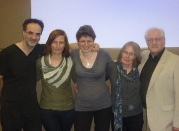 Noel, Anna, Clare, Di and Trevor