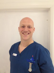 Veterinary Nurse David Gibbons