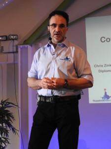 Professor Noel Fitzpatrick speak at FORWARD held at Wildwood Golf Club Alfod Surrey