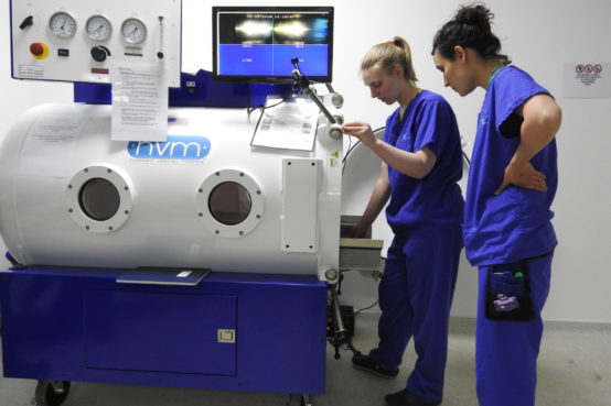Hyperbaric Oxygen Chamber at Fitzpatrick Referrals