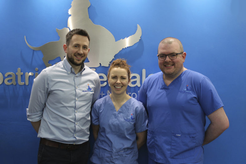 Orthopaedic surgeons James, Padraig and Susan at Fitzpatrick Referrals
