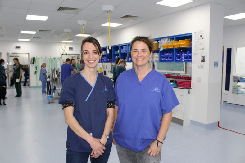 Audrey Belmudes and Audrey Petite, Radiologists at Fitzpatrick Referrals