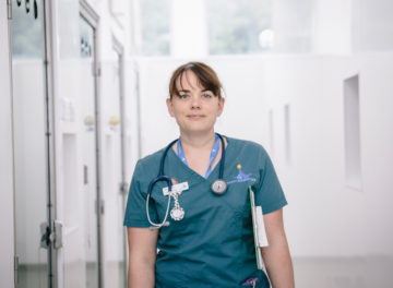 Fitzpatrick Referrals Interventional Radiology Senior Nurse Jen O'Keeffe