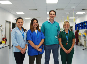 Dr Iain Grant and the medical oncology team at Fitzpatrick Referrals