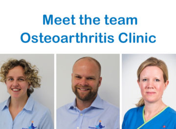 Fitzpatrick Referrals Osteoarthritis Clinic team