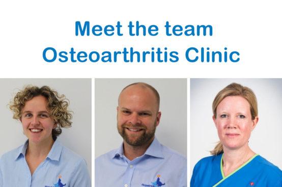 Fitzpatrick Referrals Osteoarthritis Clinic team