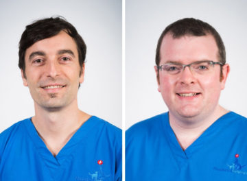 Miguel Solano and Pádraig Egan, senior surgeons in orthpaedics at Fitzpatrick Referrals Orthopaedics and Neurology