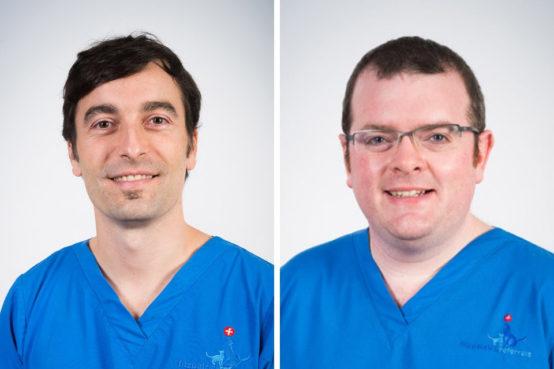 Miguel Solano and Pádraig Egan, senior surgeons in orthpaedics at Fitzpatrick Referrals Orthopaedics and Neurology