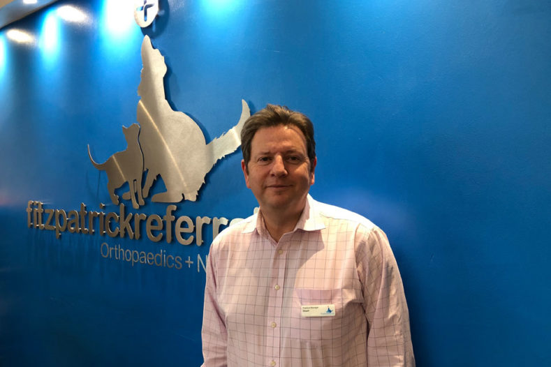 Stuart Saunders Practice Manager at Fitzpatrick Referrals