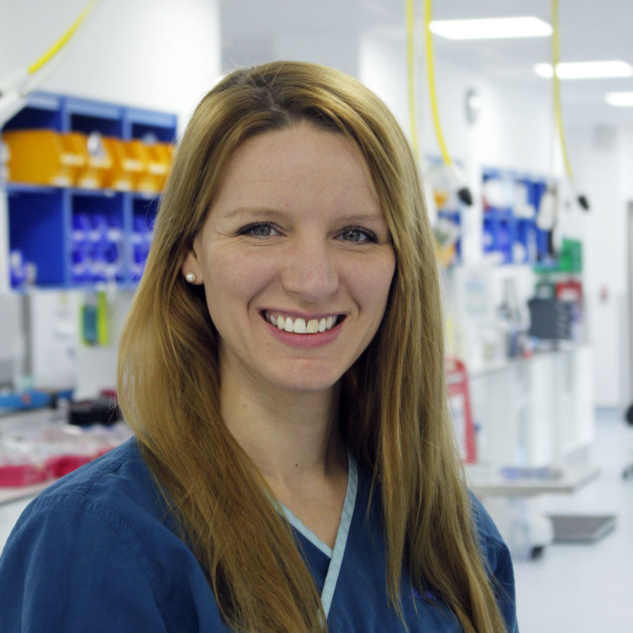 Head Nurse Carly Seymour