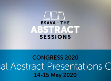 BSAVA 2020 - The Abstract Sessions poster