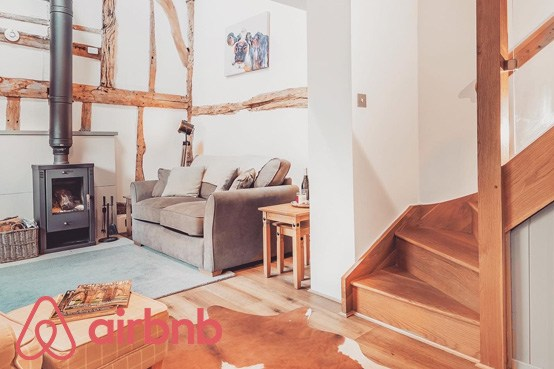 The Haybarn Airbnb accommodation in Grayswood