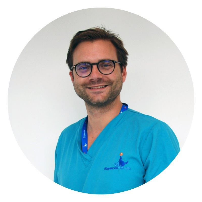 Medical Oncologist Dr Quentin Fournier
