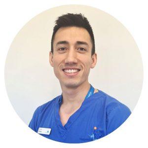 Surgical Resident Dr Chris Webb