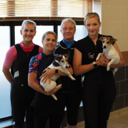 Hydrotherapy team at Fitzpatrick Referrals Rehabilitation Centre